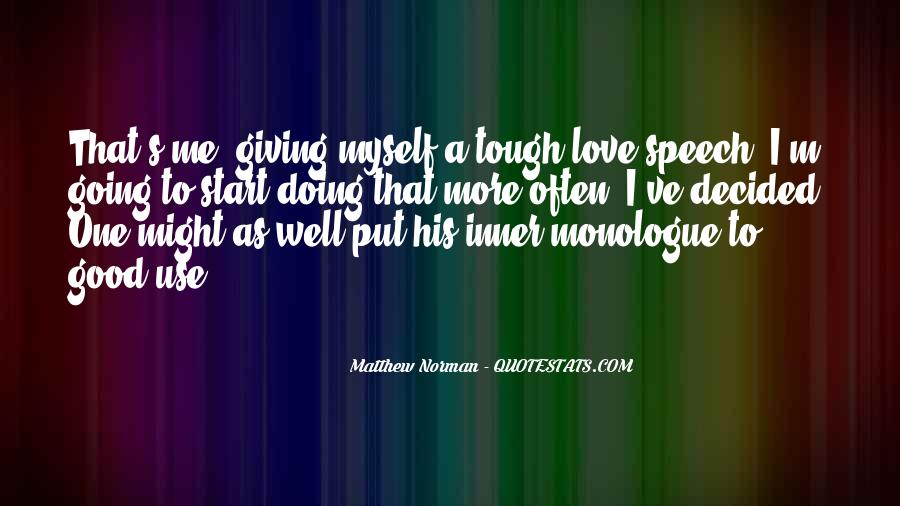 Quotes About Speech Giving #1657257