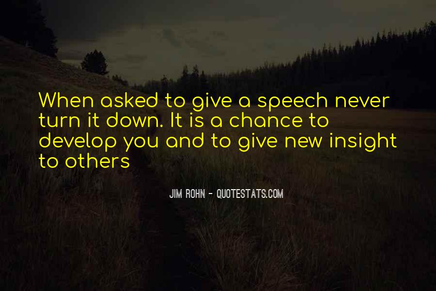 Quotes About Speech Giving #269254