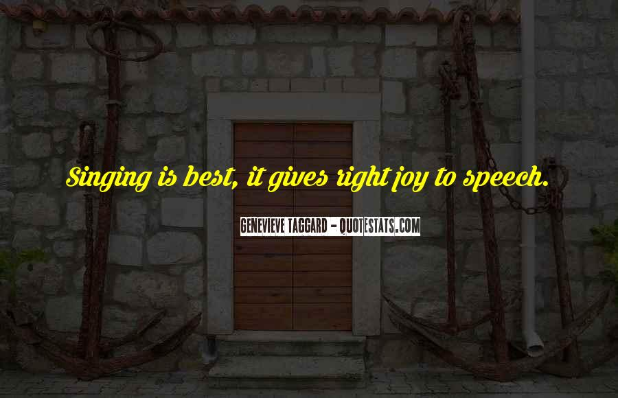 Quotes About Speech Giving #379240