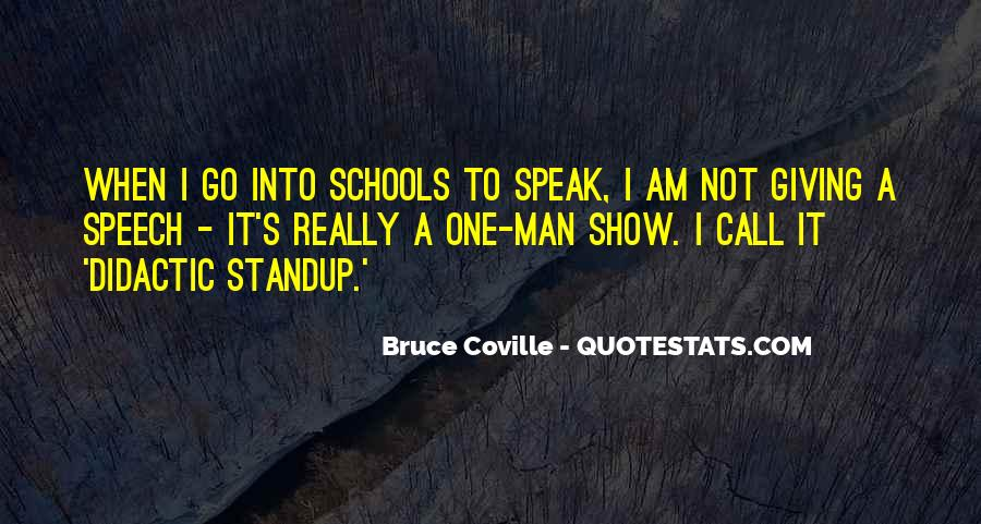 Quotes About Speech Giving #565480