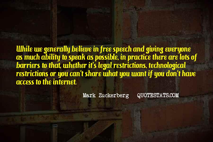 Quotes About Speech Giving #789196