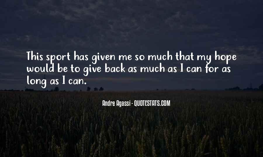 Quotes About Giving It Your All In Sports #864486