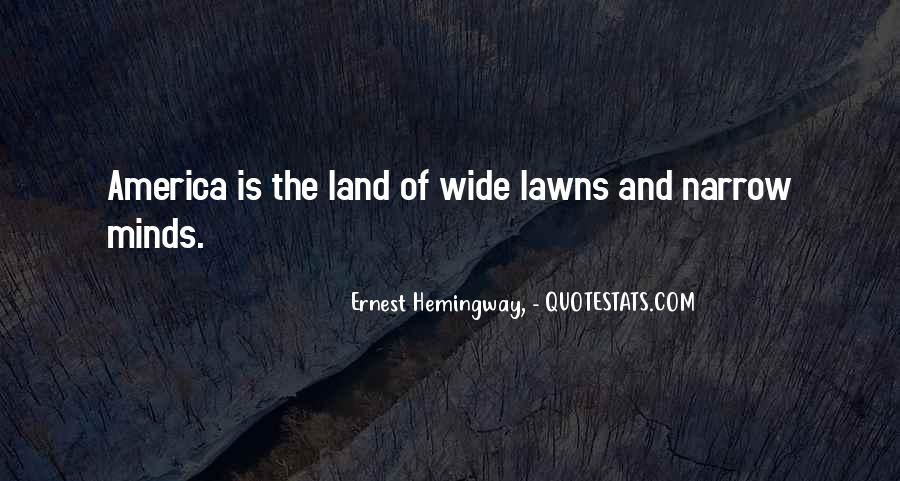 Quotes About Lawns #1557440