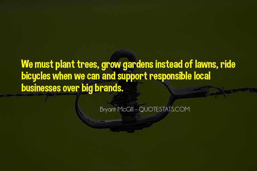 Quotes About Lawns #1572643