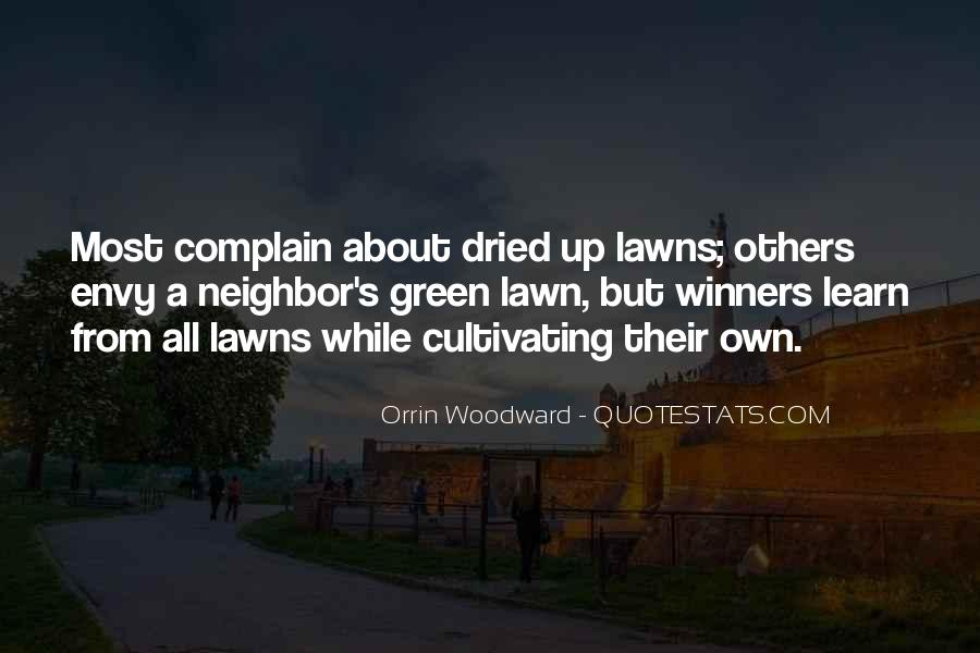 Quotes About Lawns #351320