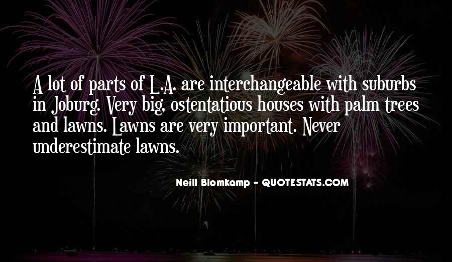 Quotes About Lawns #398542