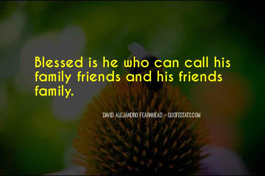 Quotes About Blessed Family #1071412