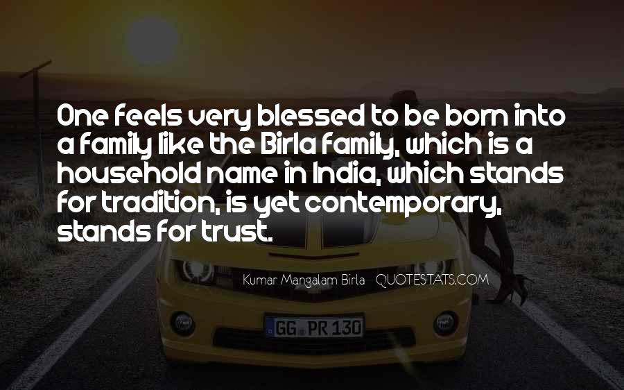 Quotes About Blessed Family #1109281