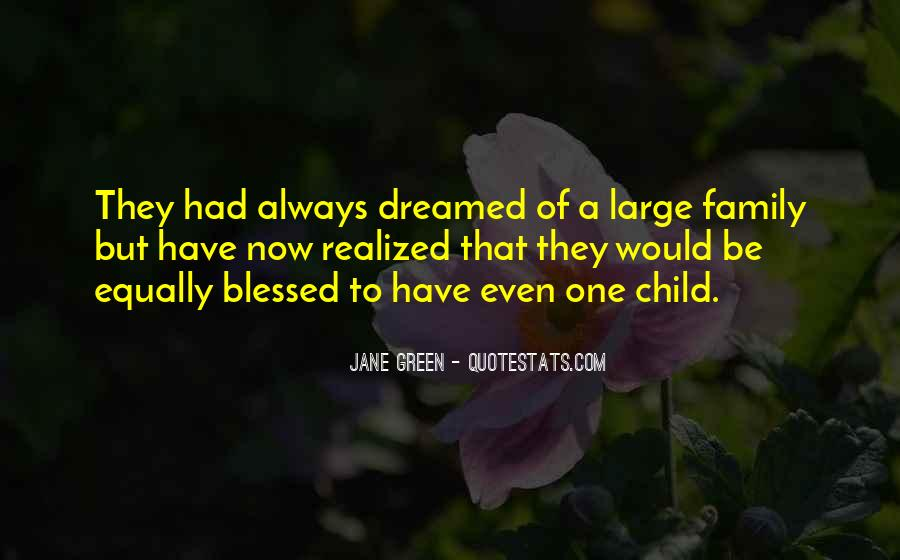 Quotes About Blessed Family #1142250
