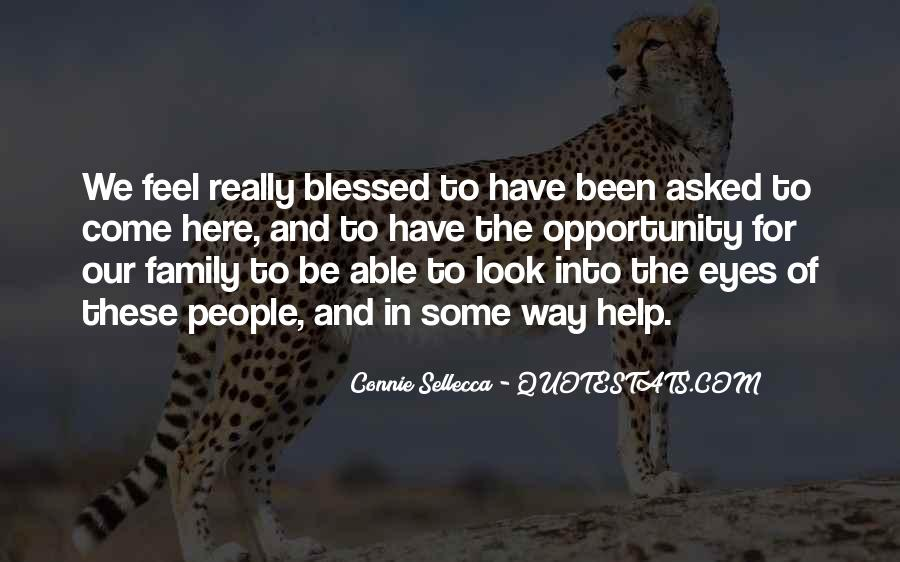 Quotes About Blessed Family #1143883