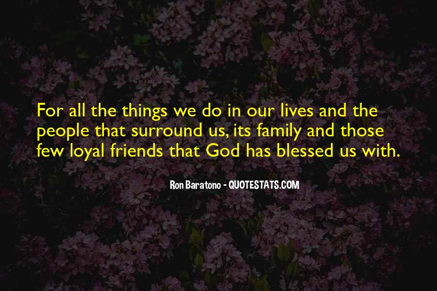 Quotes About Blessed Family #1183692