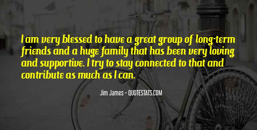 Quotes About Blessed Family #1220976