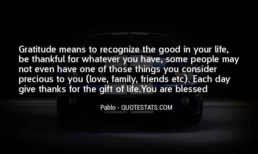 Quotes About Blessed Family #1359009