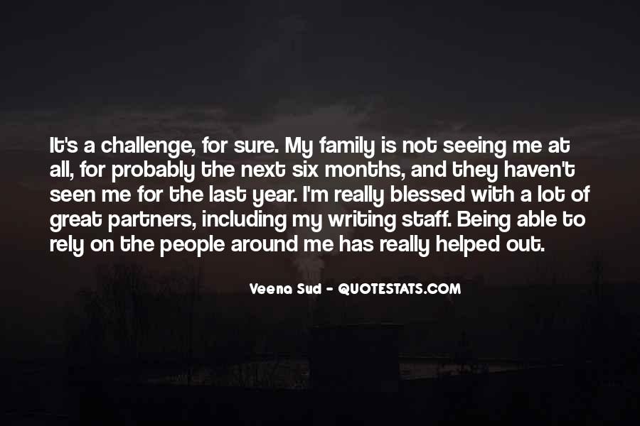 Quotes About Blessed Family #1365329