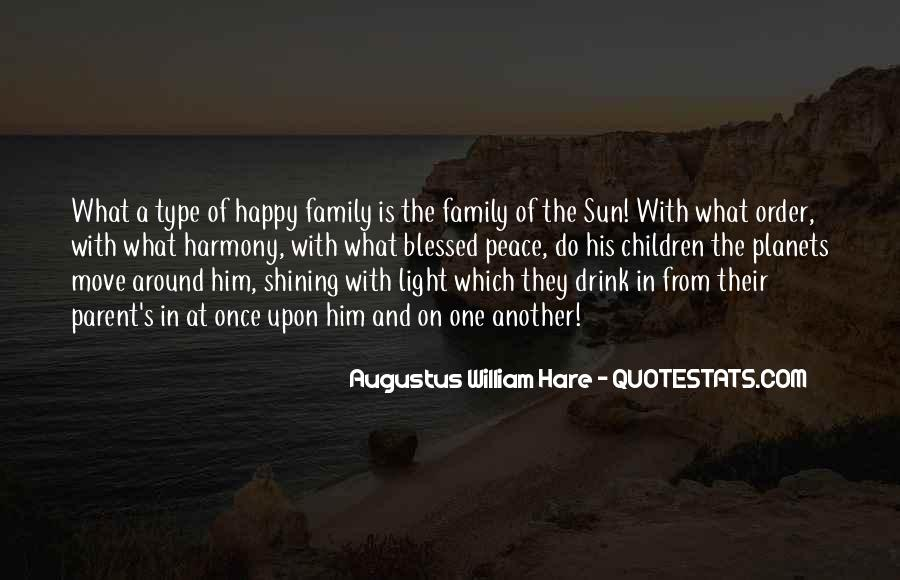 Quotes About Blessed Family #139673