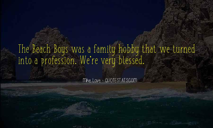Quotes About Blessed Family #1514744