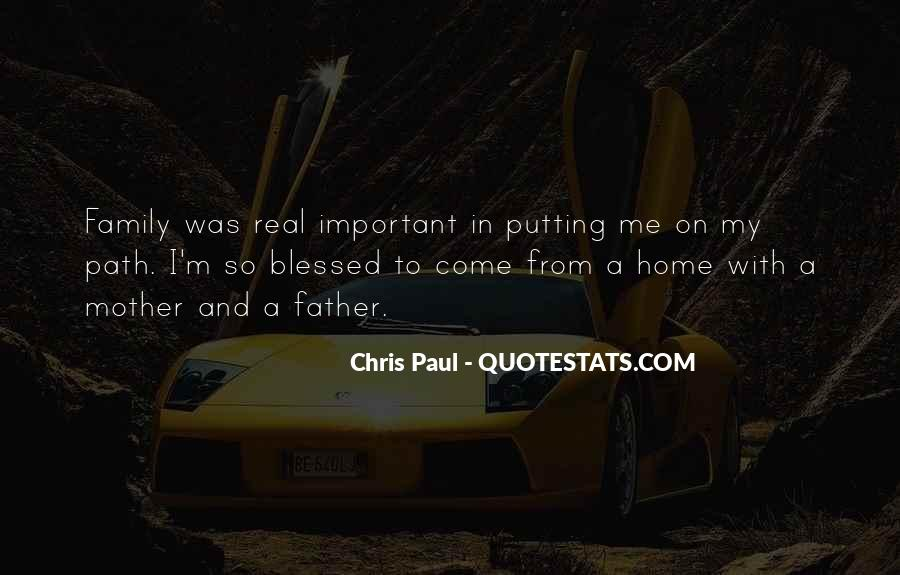 Quotes About Blessed Family #1602511