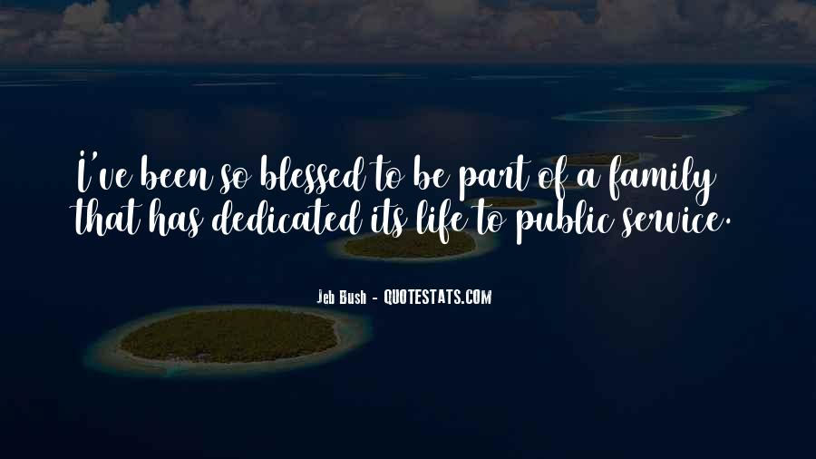 Quotes About Blessed Family #1832447