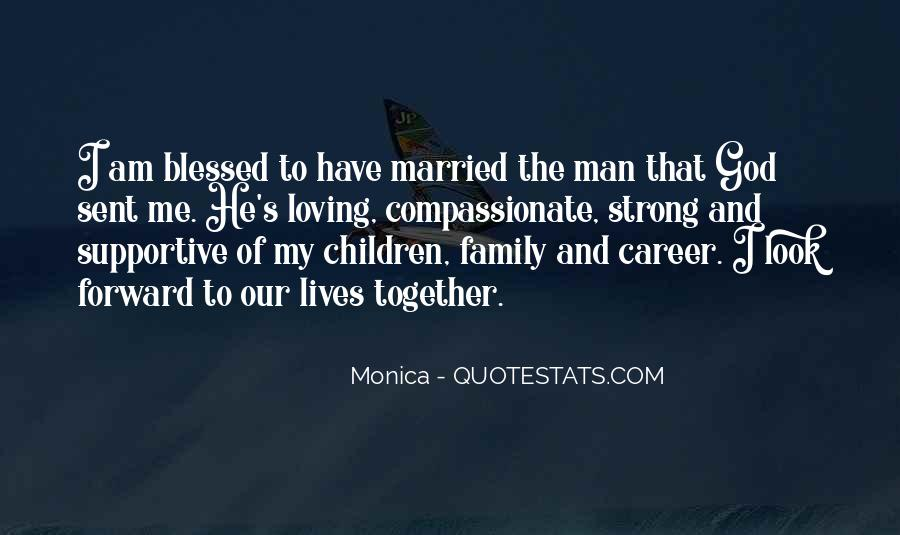Quotes About Blessed Family #262121