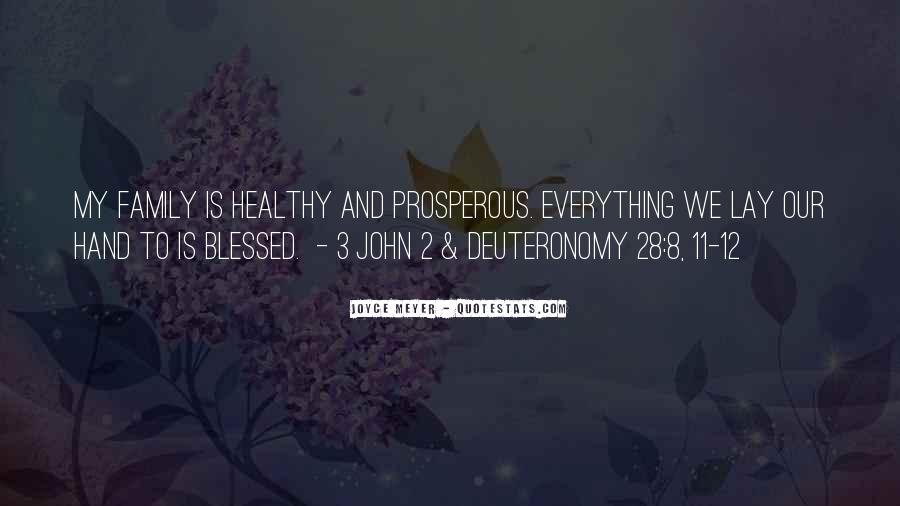 Quotes About Blessed Family #536791