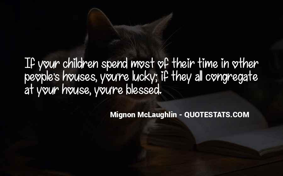 Quotes About Blessed Family #584315