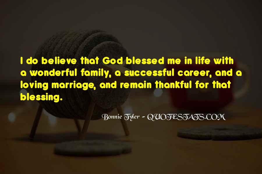Quotes About Blessed Family #72552