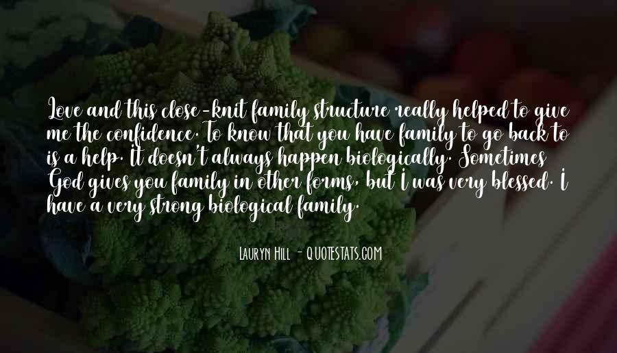 Quotes About Blessed Family #782671