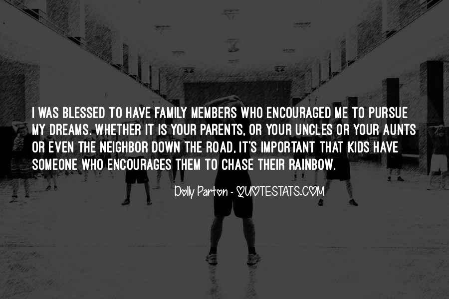 Quotes About Blessed Family #851915
