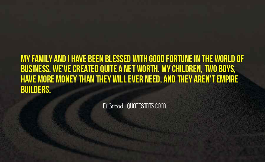 Quotes About Blessed Family #919106