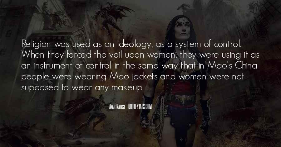 Quotes About Wearing Too Much Makeup #919384