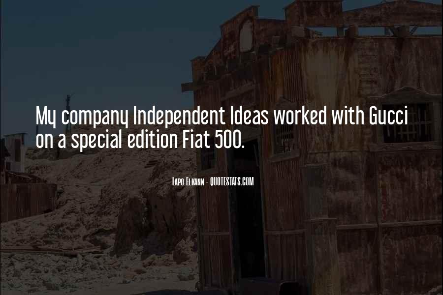 Quotes About Fiat 500 #397389