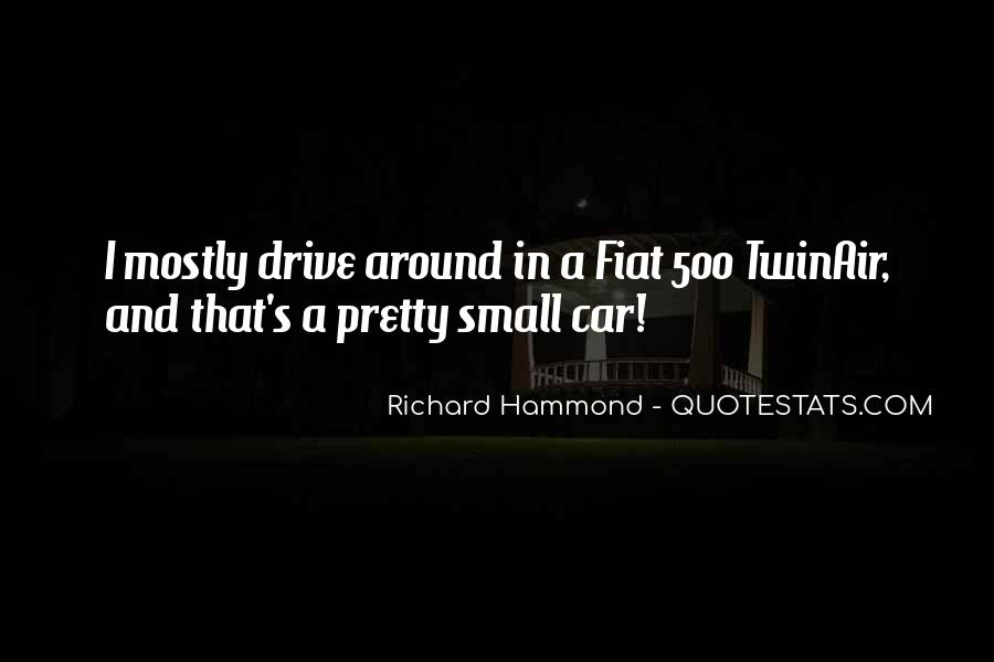Quotes About Fiat 500 #962719