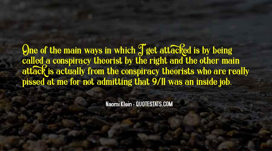 Quotes About Conspiracy On 9 11 #1182138