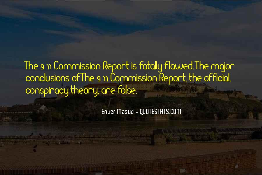 Quotes About Conspiracy On 9 11 #525004