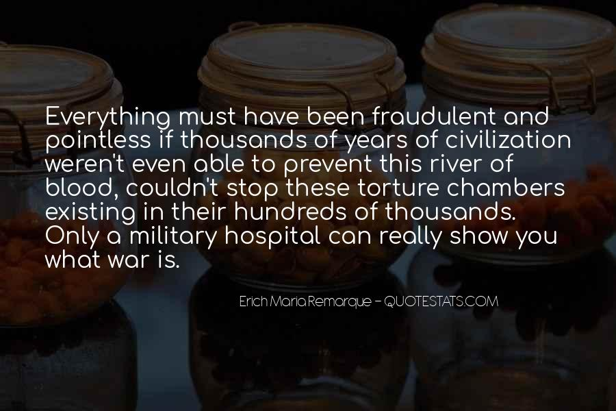 Quotes About How Pointless War Is #378961