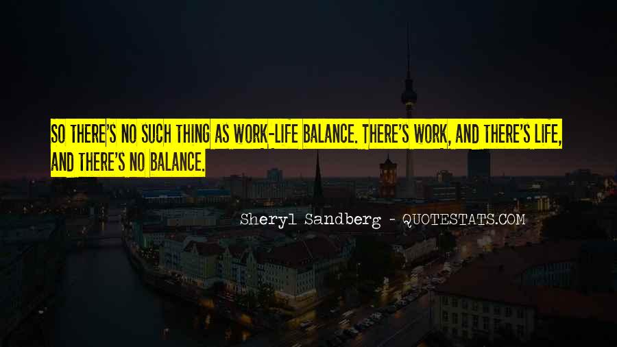 Quotes About Balance And Life #10413
