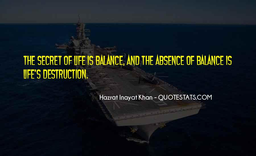 Quotes About Balance And Life #147079