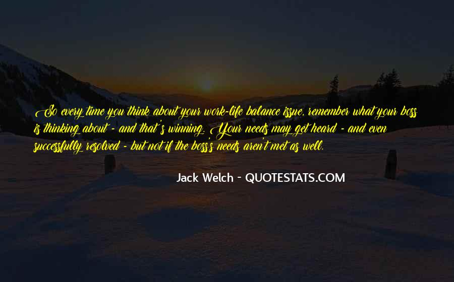 Quotes About Balance And Life #190557