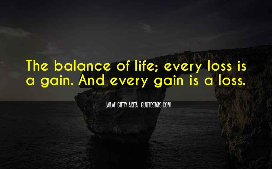 Quotes About Balance And Life #191133