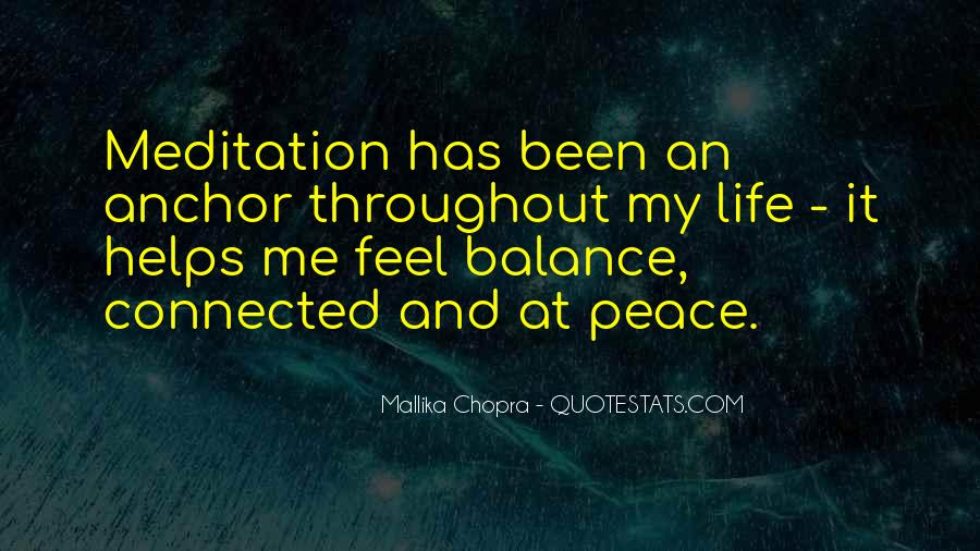 Quotes About Balance And Life #20219