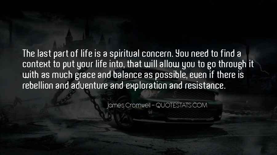 Quotes About Balance And Life #211332
