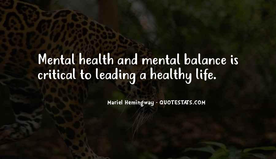 Quotes About Balance And Life #225970