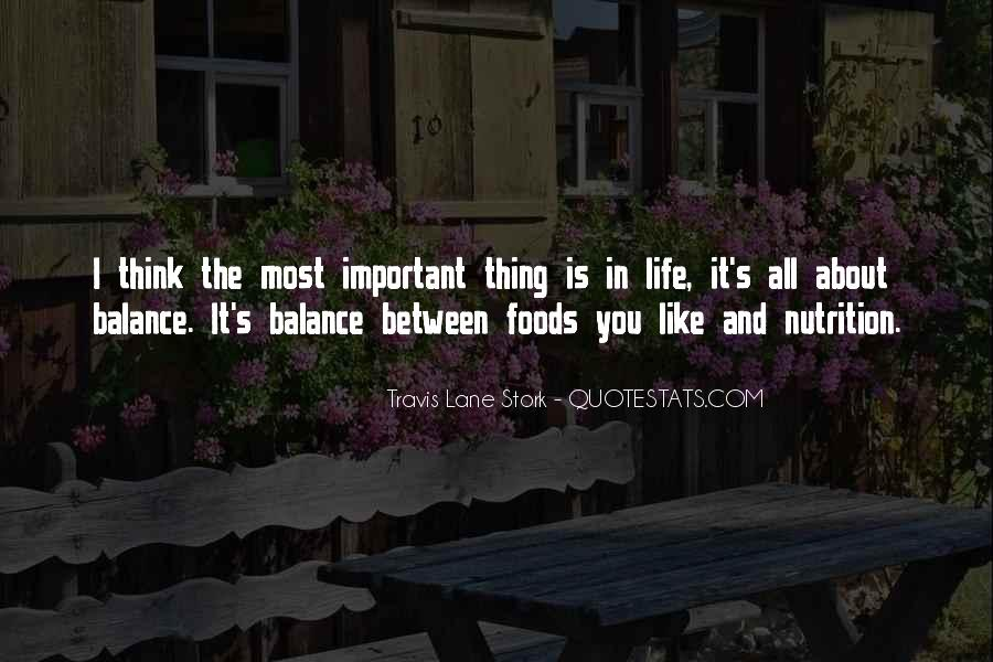 Quotes About Balance And Life #268688