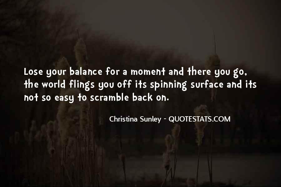 Quotes About Balance And Life #27176