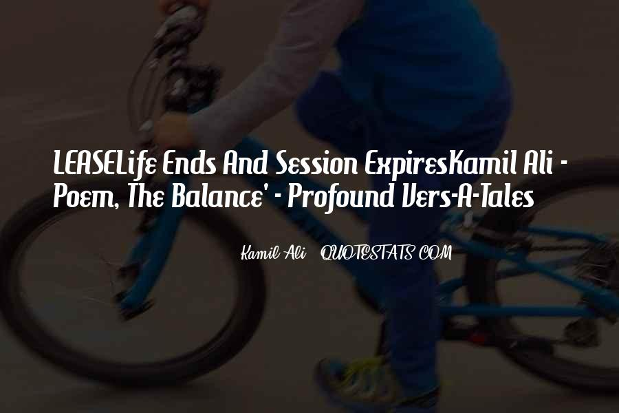Quotes About Balance And Life #298036