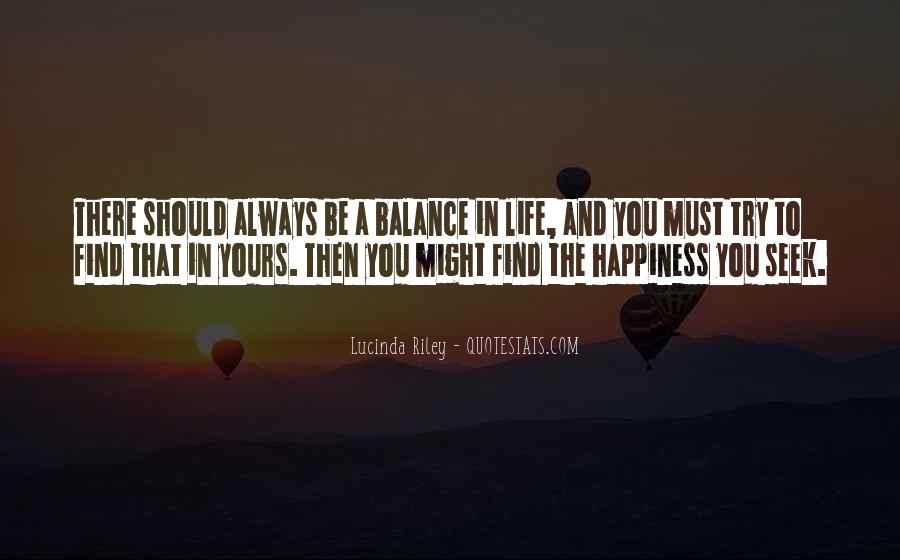 Quotes About Balance And Life #445064