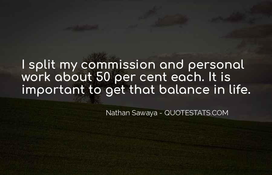 Quotes About Balance And Life #47782