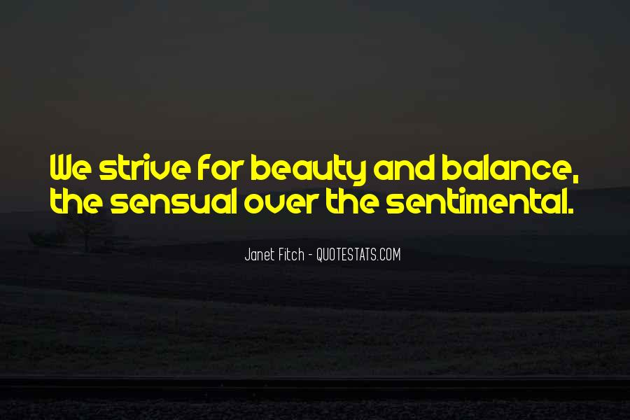 Quotes About Balance And Life #9335