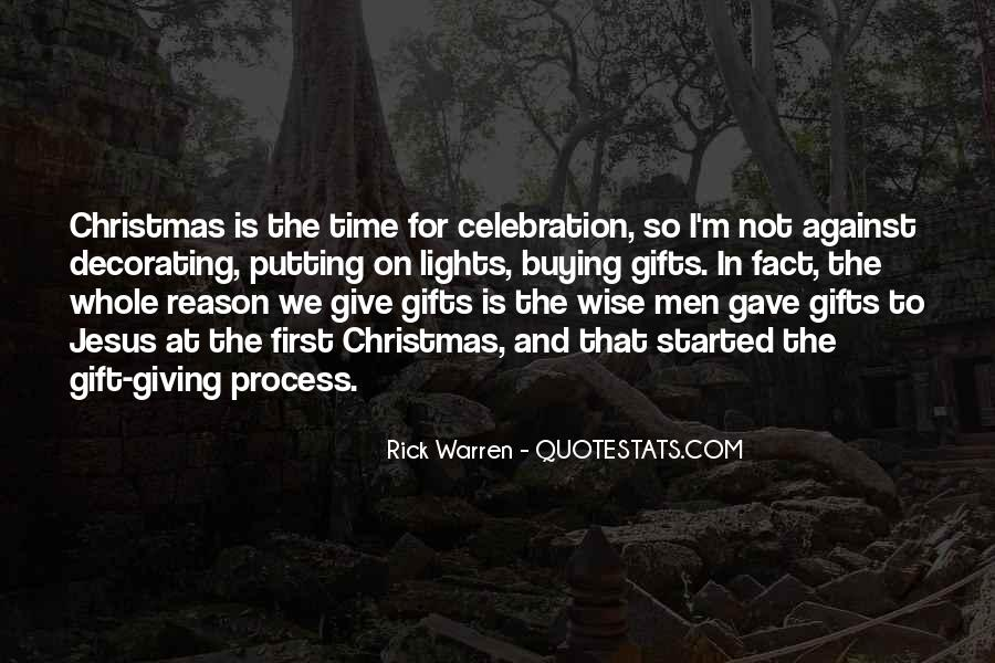 Quotes About Giving Gifts On Christmas #1154376