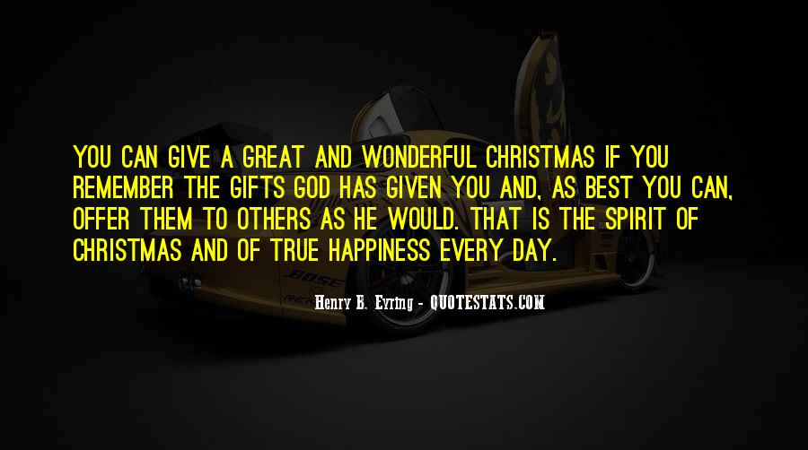 Quotes About Giving Gifts On Christmas #953947